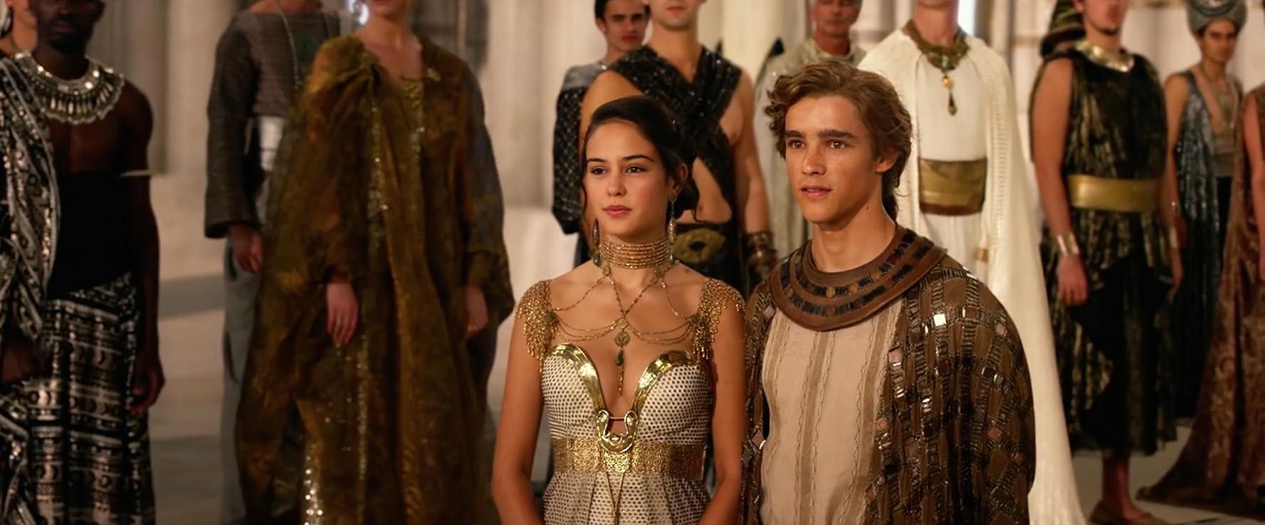 Potongan Film Gods of Egypt