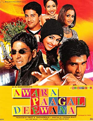 Where to stream Awara Paagal Deewana