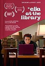 Ella at the Library