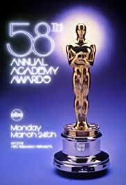 The 58th Annual Academy Awards Poster