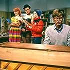 Jørn Faurschou, Inger Hovman, Ulf Pilgaard, and Karin Wedel in D*A*S*K (1981)