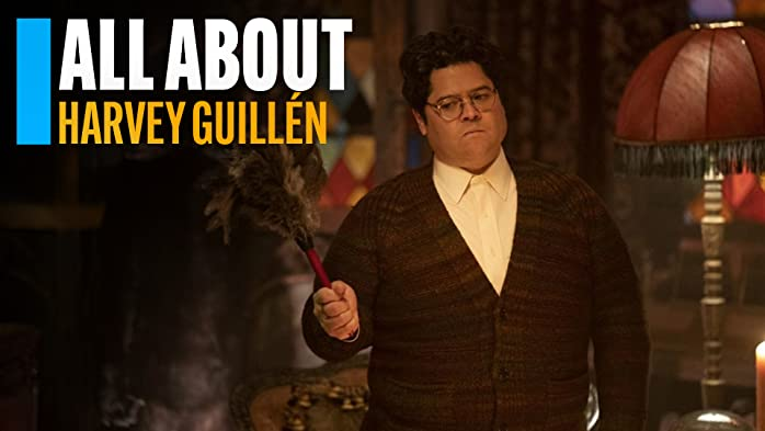 This IMDb video bio gives you a behind-the-scenes peek at Harvey Guillén's career.