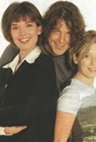 Kate Ashfield, Simone Bendix, and Alan Davies in A Many Splintered Thing (2000)