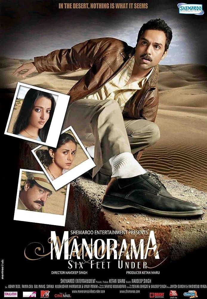 Manorama Six Feet Under (2007) Hindi 720p HDRip x264 999MB