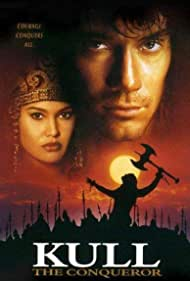 Tia Carrere and Kevin Sorbo in Kull the Conqueror (1997)