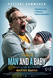 Man and a Baby Poster