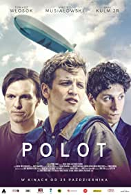 Eryk Kulm, Tomasz Wlosok, and Maciej Musialowski in Polot (2020)