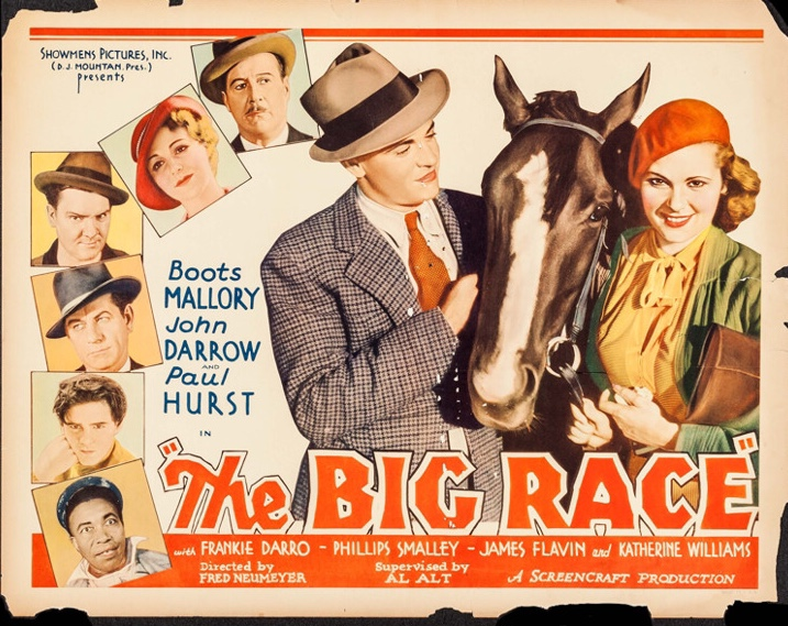 3309bad5451cf John Darrow and Boots Mallory in The Big Race (1934)