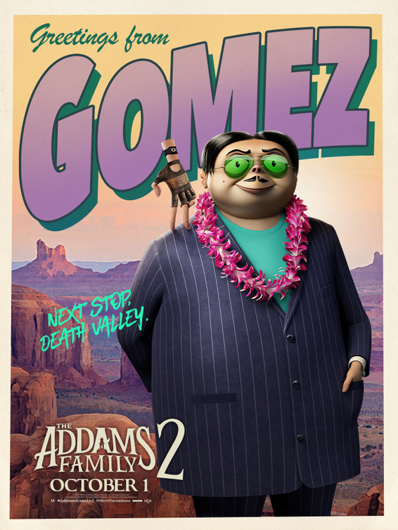 Oscar Isaac in The Addams Family 2 (2021)