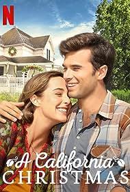 Lauren Swickard and Josh Swickard in A California Christmas (2020)
