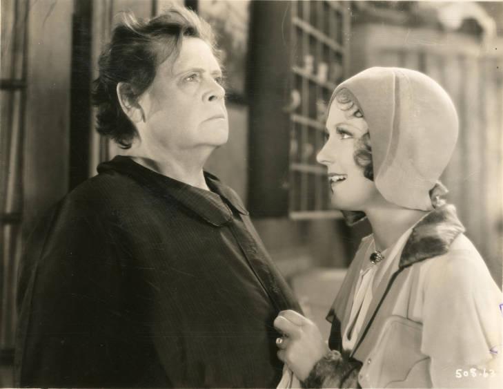 Marie Dressler and Dorothy Jordan in Min and Bill (1930)