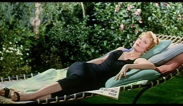 Arlene Dahl in Slightly Scarlet (1956)