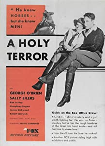 A Holy Terror by Thornton Freeland