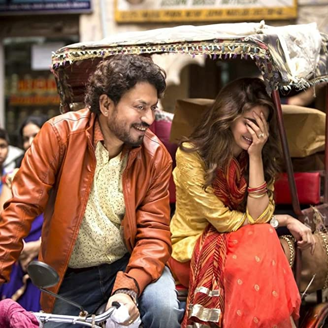 Irrfan Khan and Saba Qamar in Hindi Medium (2017)