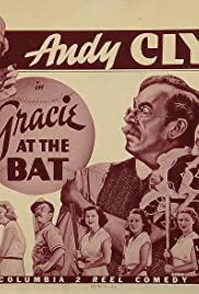 Gracie at the Bat Poster