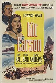 Dana Andrews, Lynn Bari, and Jon Hall in Kit Carson (1940)