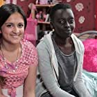 Amy-Leigh Hickman and Akuc Bol in The Dumping Ground Survival Files (2014)