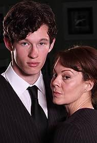 Helen McCrory and Callum Turner in Leaving (2012)