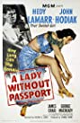 A Lady Without Passport (1950) Poster