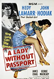 A Lady Without Passport Poster