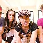 Kevin Sebastian, Noriko Sato, Nicholas Delany, and Danielle Carroll in Fully Engaged (2015)