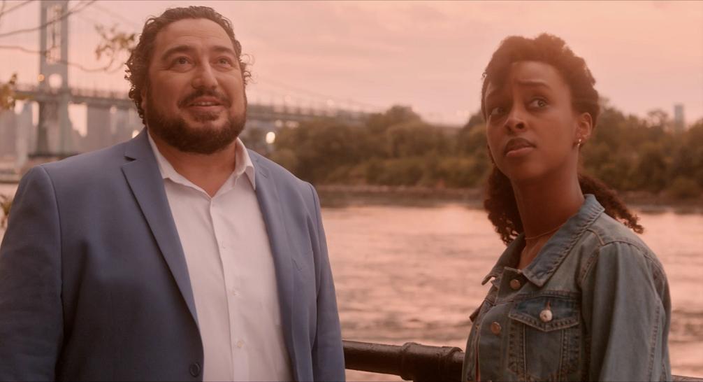"Damian Muziani and Ebony Obsidian in ""Such a Deal""."