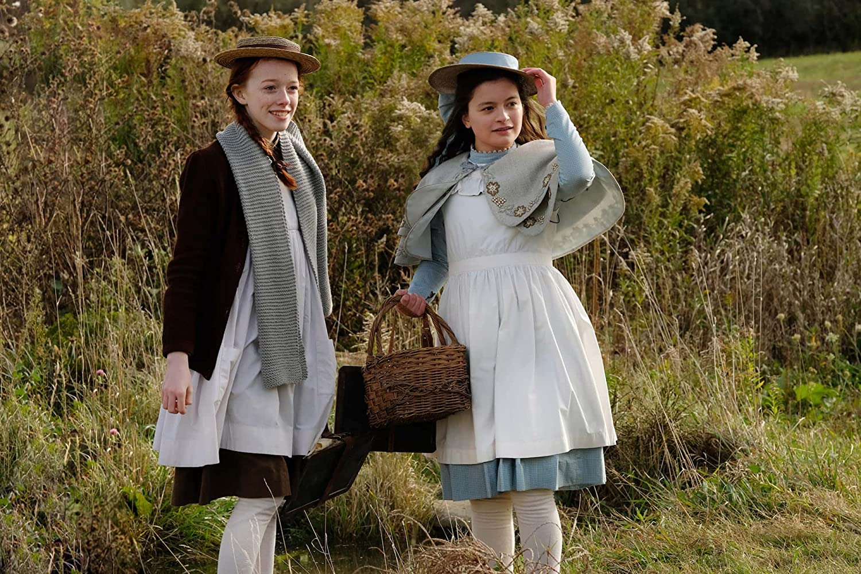Dalila Bela and Amybeth McNulty in Anne (2017)