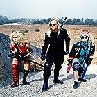 Scott Shaw, Allison Coleman, and Claudia Scholtz in The Roller Blade Seven (1991)