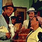 Halit Akçatepe, Metin Akpinar, Zeki Alasya, Adile Nasit, Münir Özkul, and Kemal Sunal in Salak Milyoner (1974)
