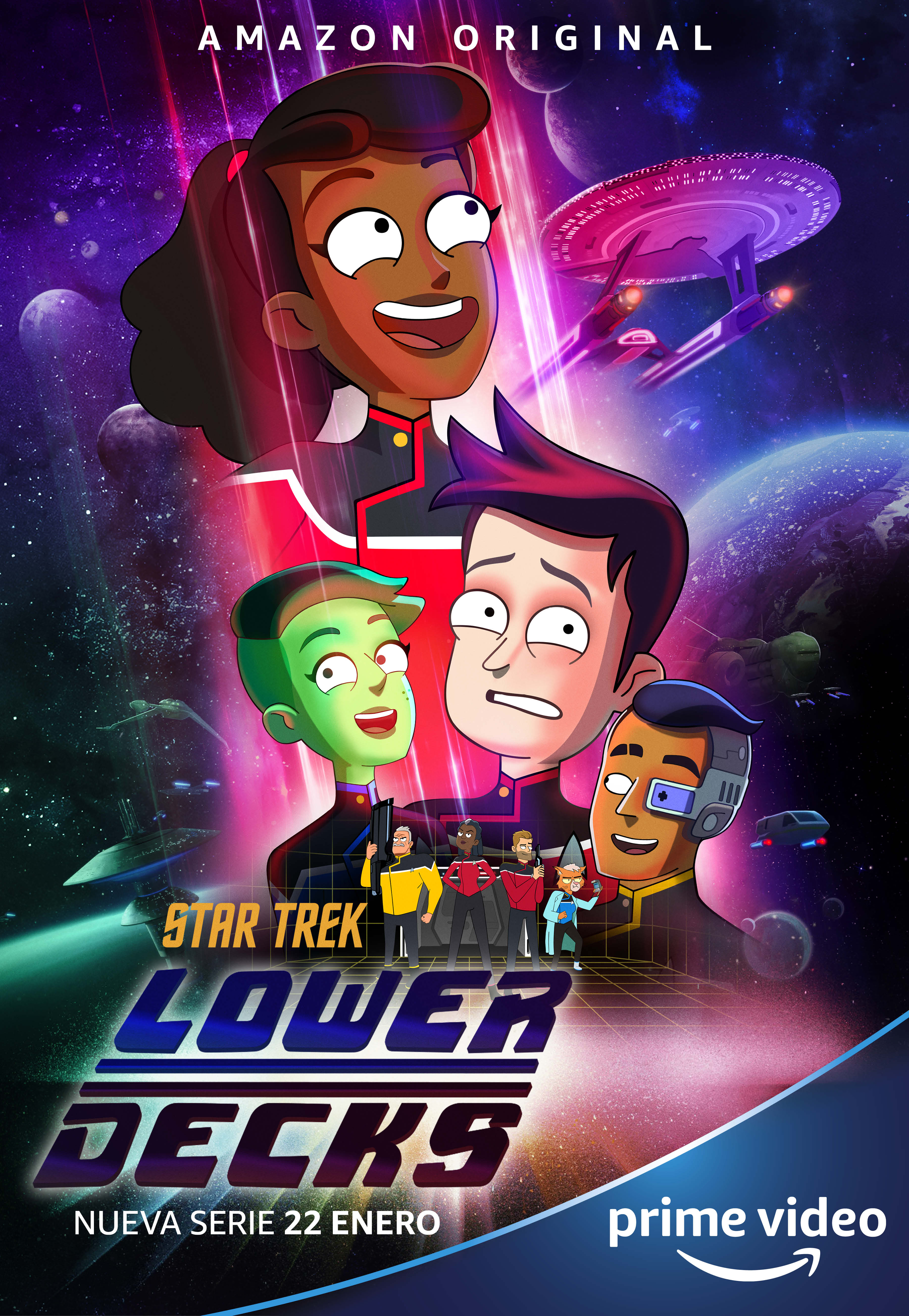 Star Trek Lower Decks 2021 S01 Hindi Complete AMZN Web Series 720p HDRip 1720MB Download