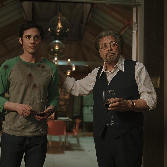 Al Pacino and Logan Lerman in Hunters (2020)