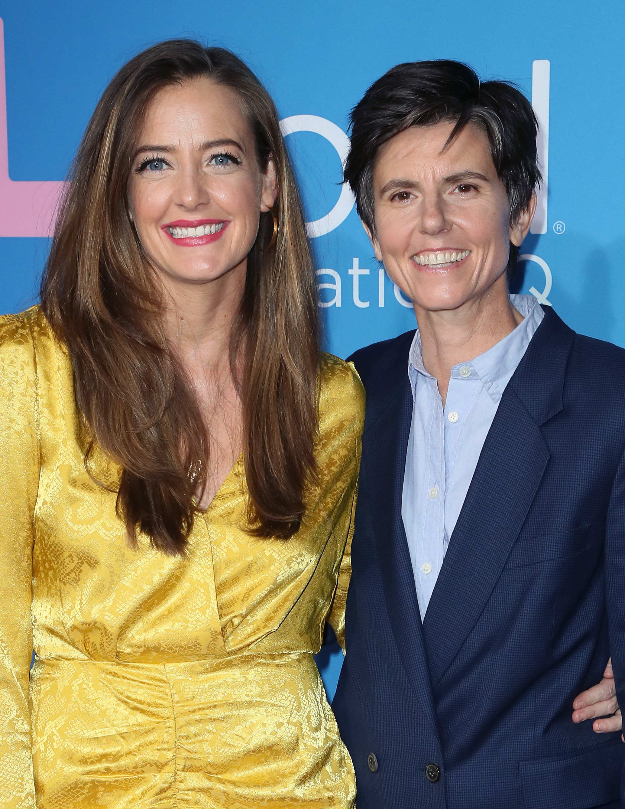 Tig Notaro and Stephanie Allynne at an event for The L Word: Generation Q (2019)