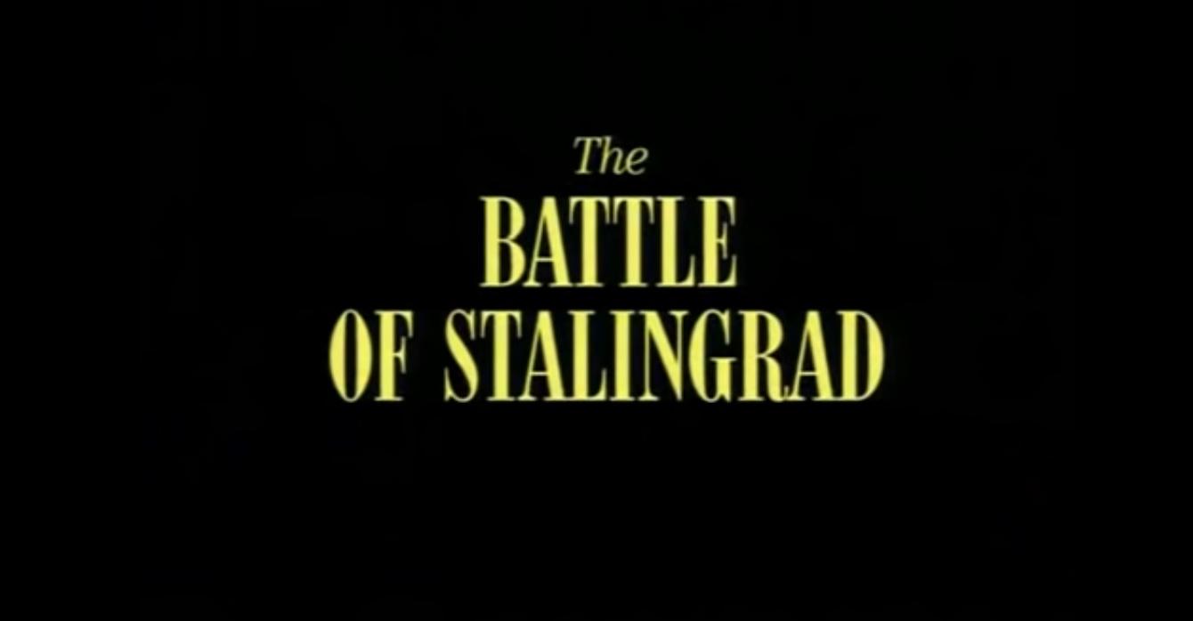 Battlefield : Documentary – (1995) SE01 EP04 – The Battle of Stalingrad