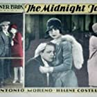 Myrna Loy, Helene Costello, and Antonio Moreno in The Midnight Taxi (1928)