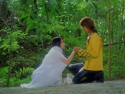 Hiroya Matsumoto in Mahou sentai Magirenjâ (2005)