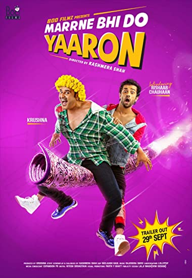 Poster of Marne Bhi Do Yaaron 2019 Full Hindi Free Download Watch Online In HD Movie Download 480p HDRip
