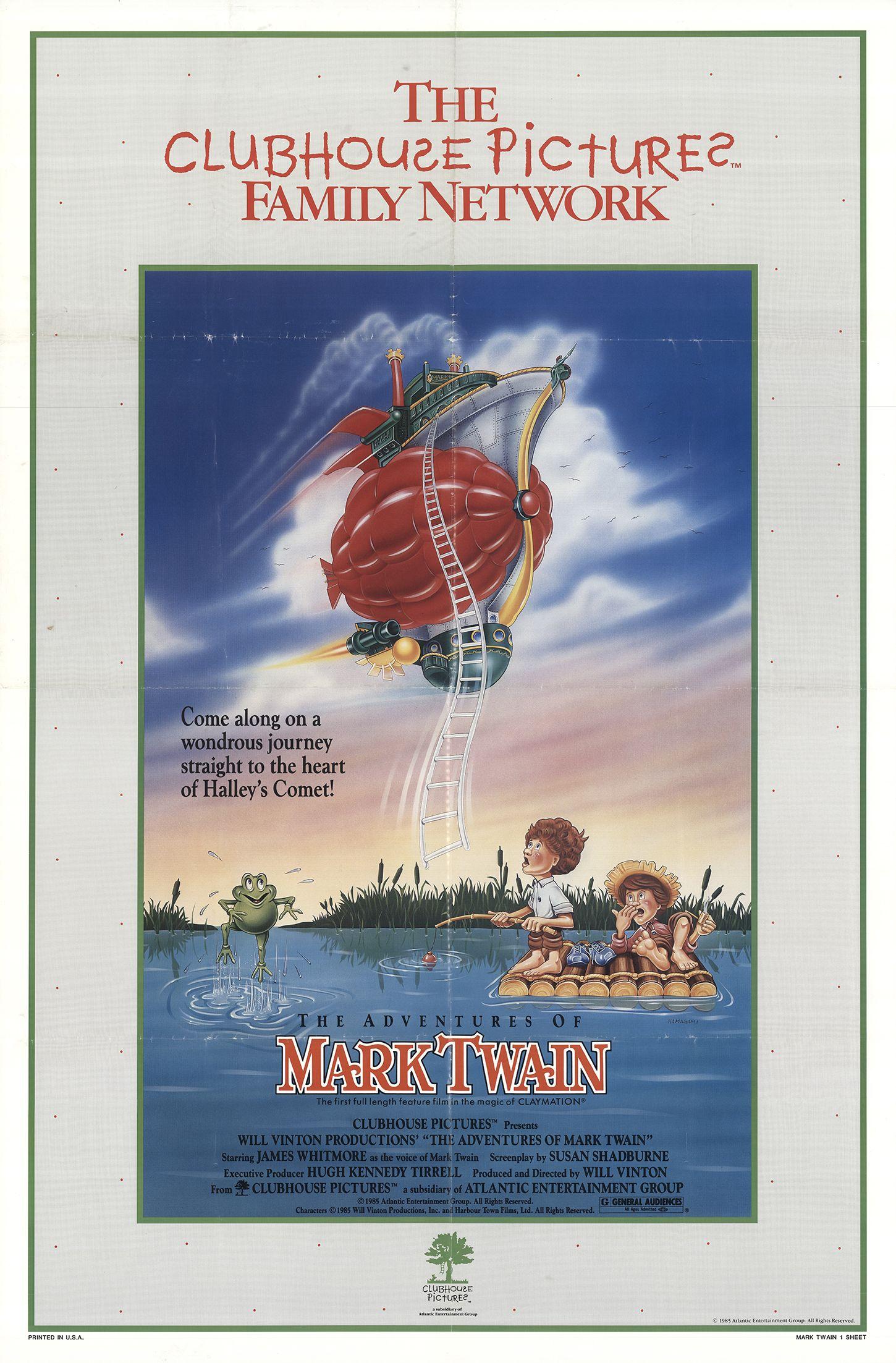 The Adventures Of Mark Twain 1985 Imdb