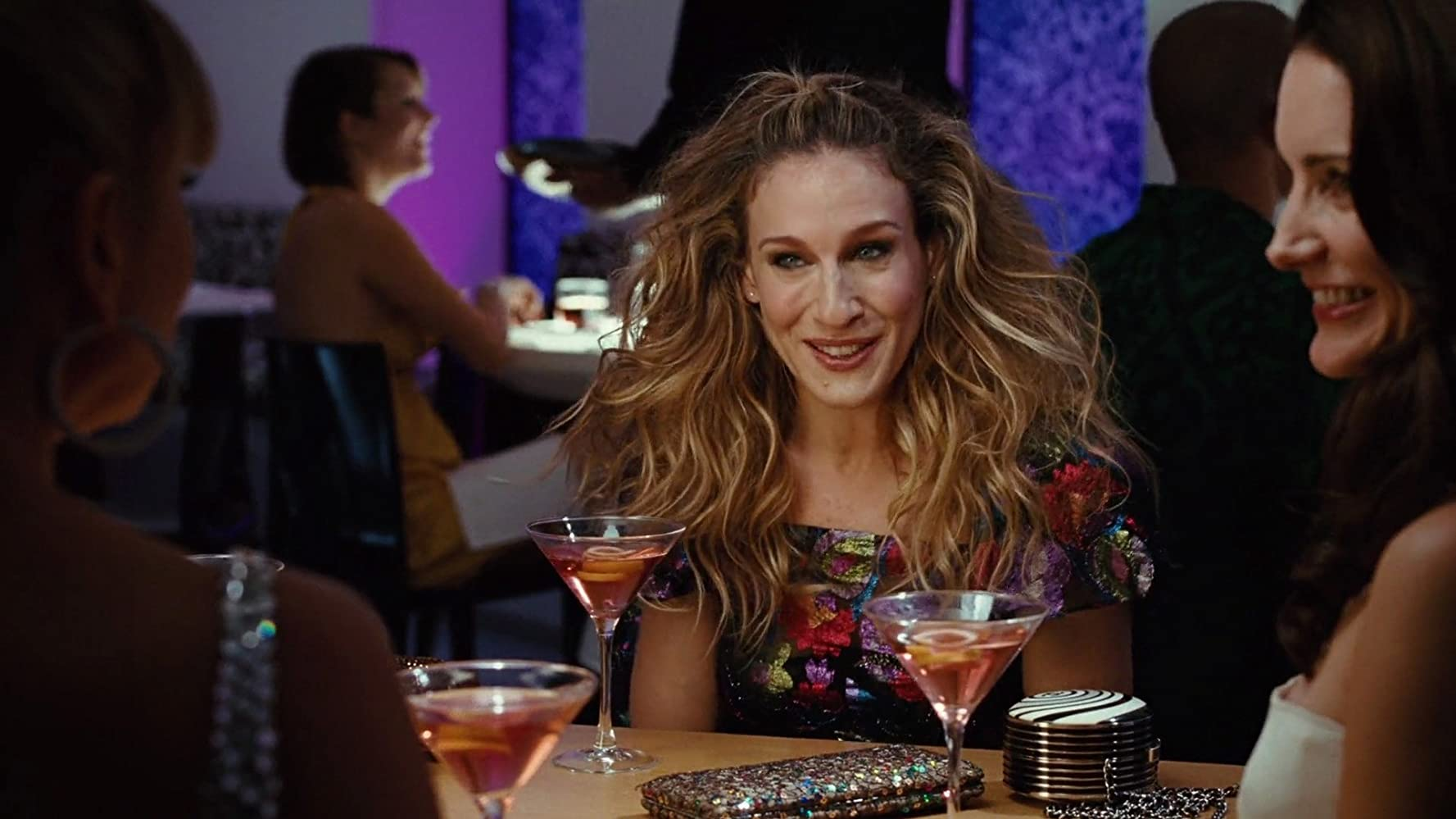 Sarah Jessica Parker and Kristin Davis in Sex and the City (2008)