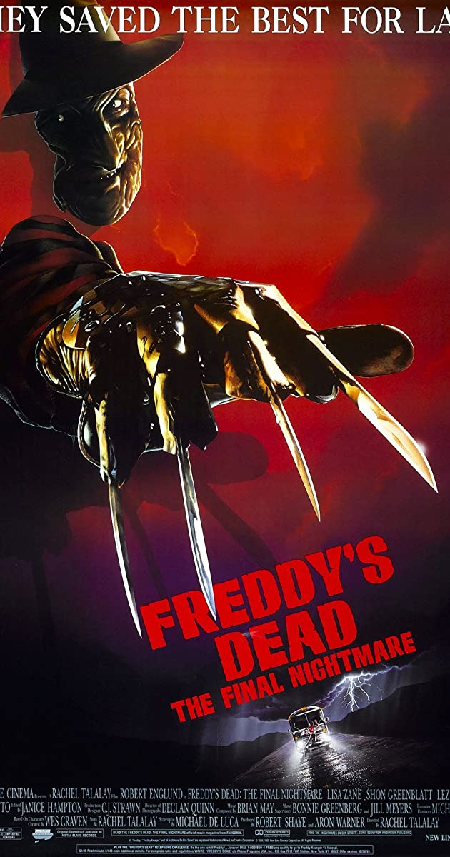 Subtitle of Freddy's Dead: The Final Nightmare