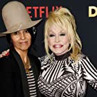 Dolly Parton and Linda Perry at an event for Dolly Parton: Here I Am (2019)