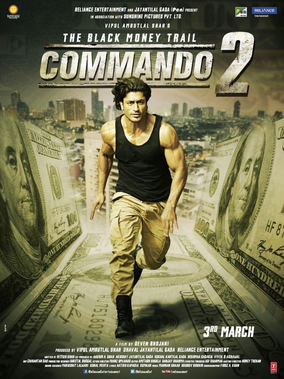 Commando 2: The Black Money Trail (2017) centmovies.xyz