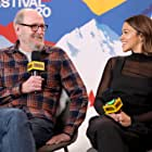 Richard Jenkins and Gina Rodriguez at an event for The IMDb Studio at Acura Festival Village (2020)