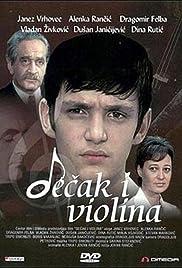 Decak i violina Poster