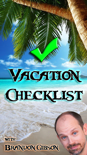 vacation checklist 2016