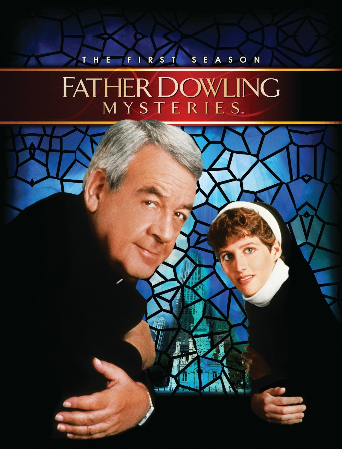 Tom Bosley and Tracy Nelson in Fatal Confession: A Father Dowling Mystery (1987)