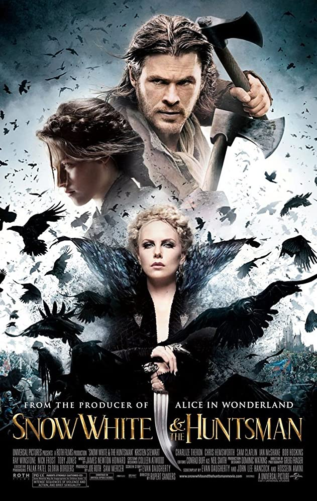 Snow White and the Huntsman 2012 Dual Audio Hindi 450MB BluRay 480p ESubs Download