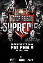 ROH: Honor Reigns Supreme 2018 Poster