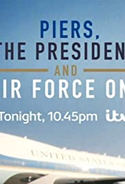 Piers, the President and Air Force One Poster