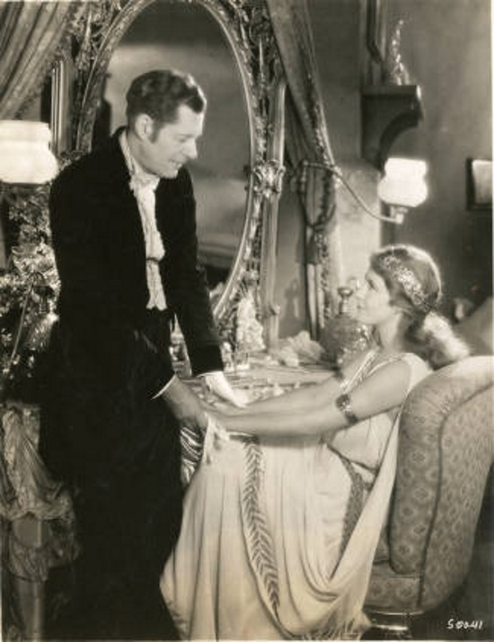 Reginald Denny and Grace Moore in A Lady's Morals (1930)