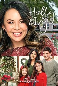 Marisol Nichols, Janel Parrish, Piper Rubio, Sadie Coleman, and Jeremy Jordan in Holly & Ivy (2020)